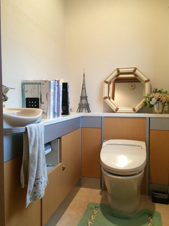 トイレデザインリフォーム シンプルモダン