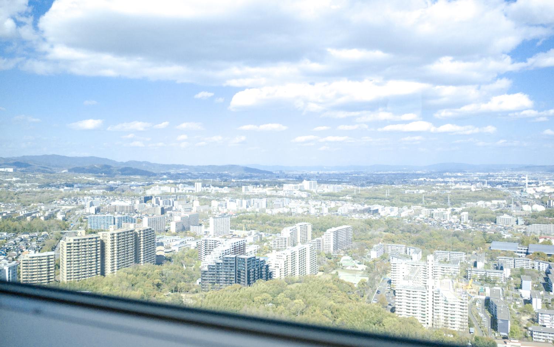 タワーマンションからの眺望 豊中
