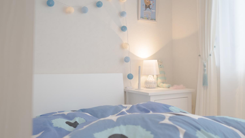 子供部屋インテリアコーディネート ホワイトインテリア