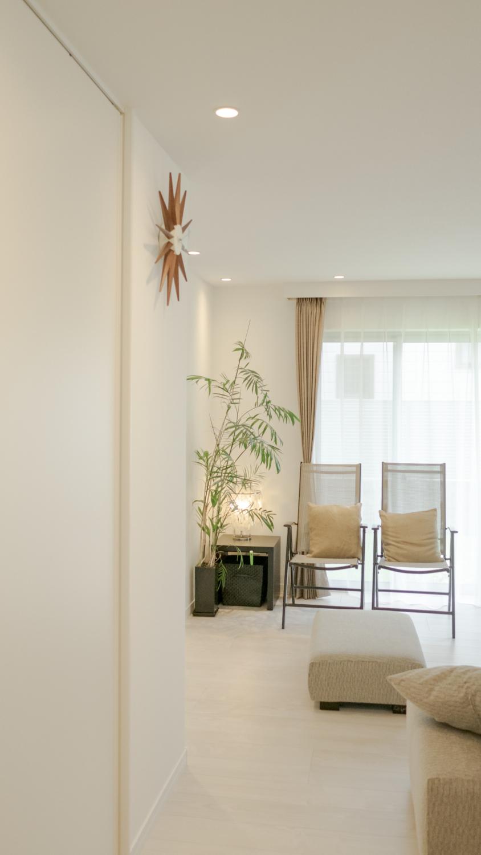 リゾートホテルのようなインテリアコーディネート神戸