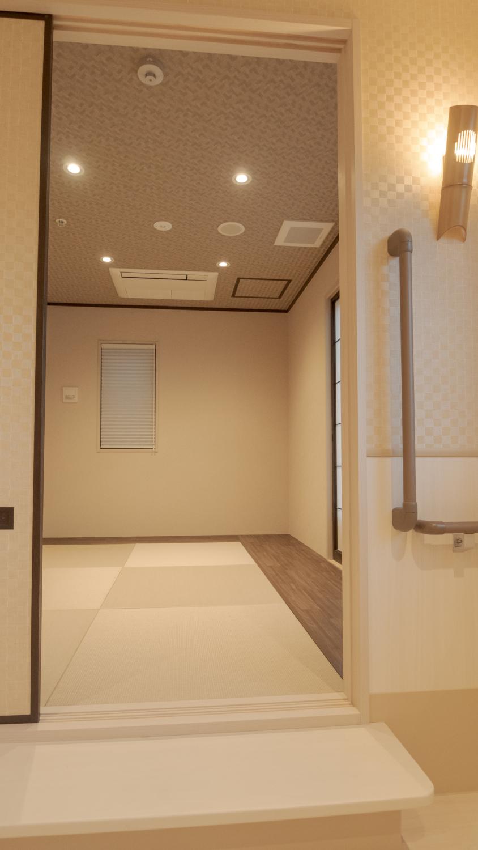 グループホーム内装デザイン 控室