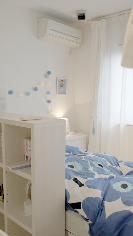 子供部屋インテリアホワイト