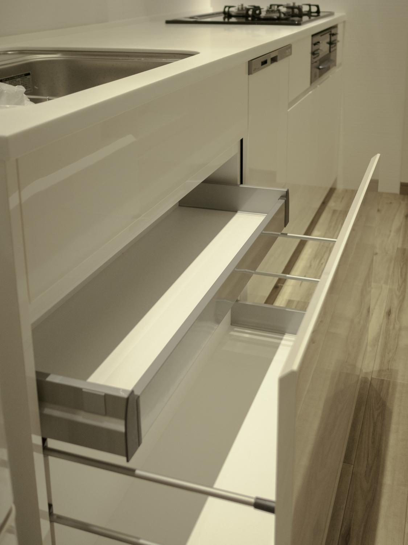 オーダーキッチン 白いキッチン 神戸