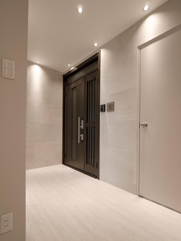 玄関ホール 玄関リフォーム 神戸