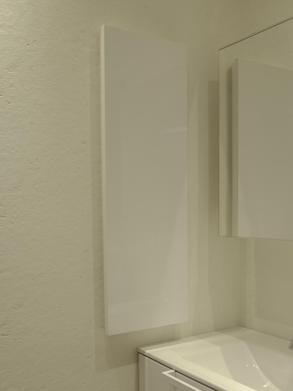 洗面壁面埋め込み収納 スッキリ収納 ホワイト