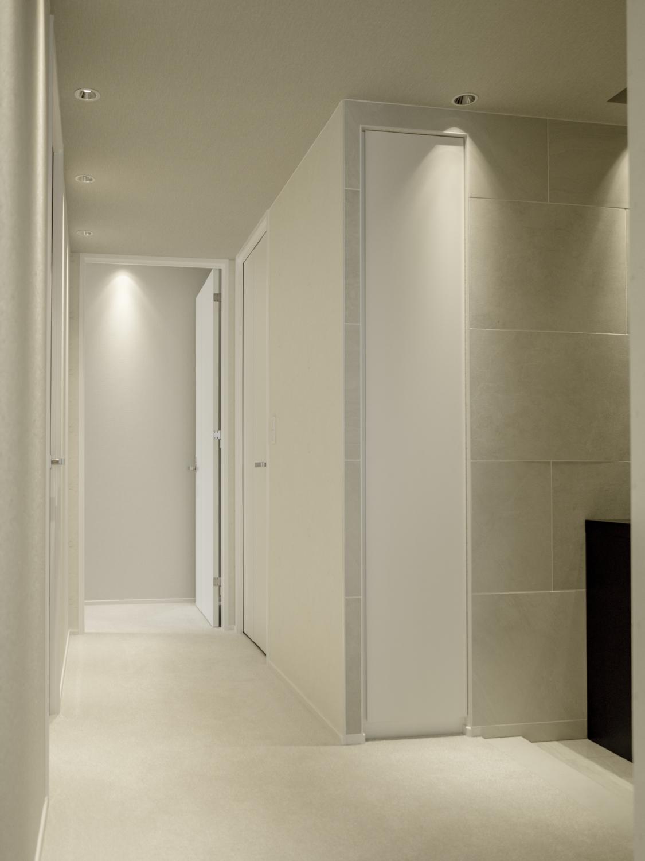 扉の取替 白い扉 マンションリフォーム神戸