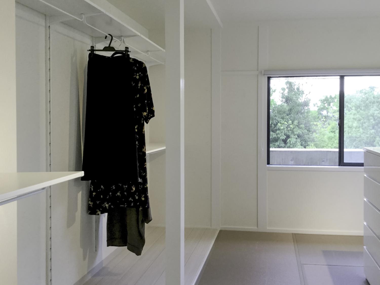 和室リフォーム 白い和室 洋服部屋