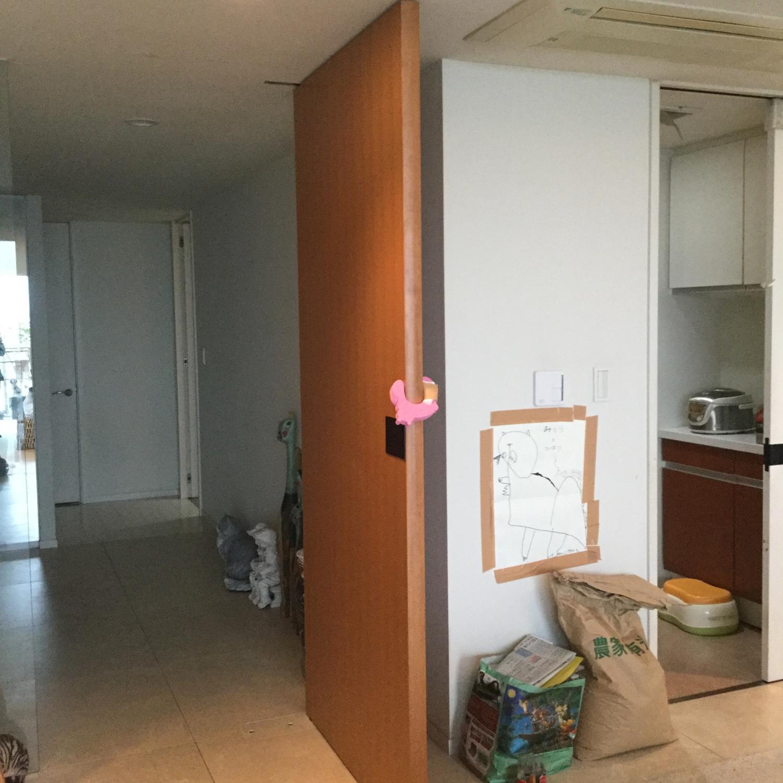 玄関ホール模様替えインテリアコーディネートリフォーム神戸