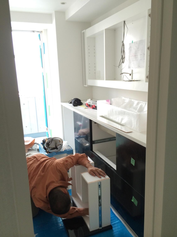 フルオーダー洗面収納