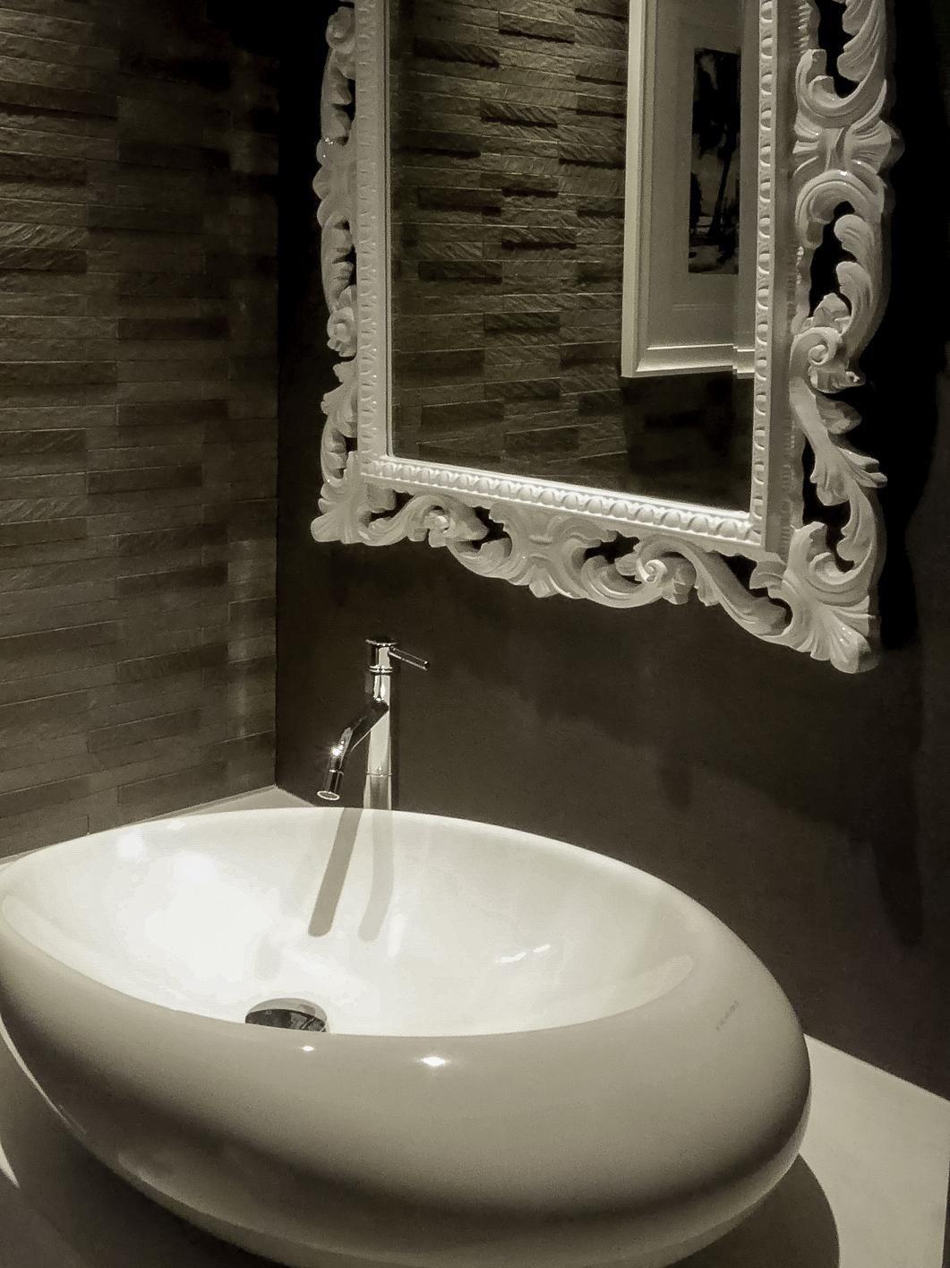 トイレ洗面ボウル モノトーントイレ シンプルモダン