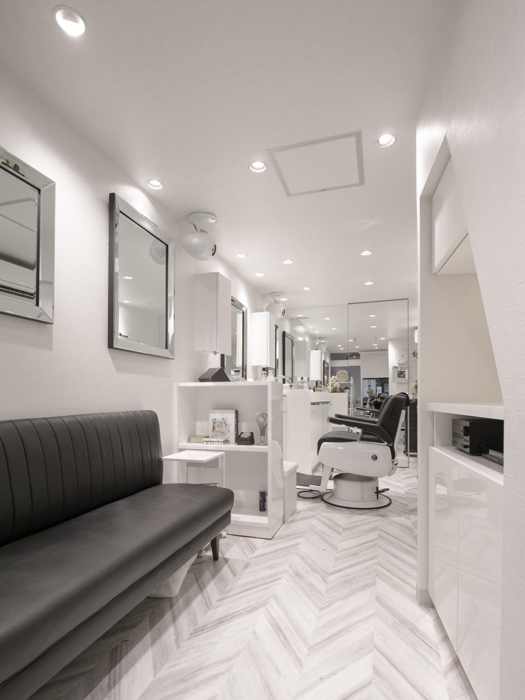 理容室 リニューアル デザインリフォーム神戸
