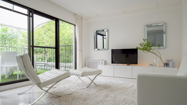 マンションリノベーション ホワイト 神戸大阪 ホワイト 白い家